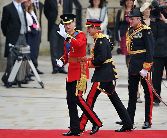 Prince William in Royal Uniform 10 Royal Wedding 2011 Photos