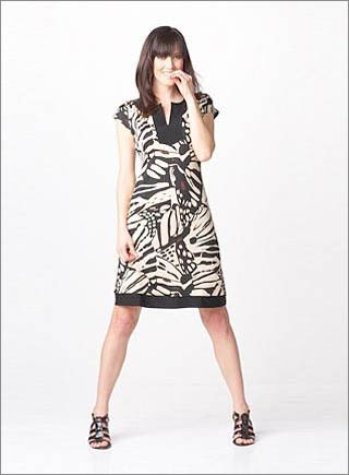 Printed Dress With Stitching Around Neck7 10 Best Summer Dresses Ideas For Women   2011