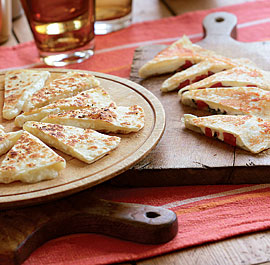 Three cheese Quesadillas 10 Healthy & Delicious Vegetarian Dishes