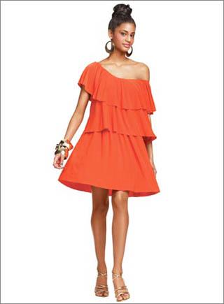 Tiered Ruffle Dress4 10 Best Summer Dresses Ideas For Women   2011