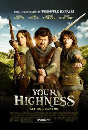 Your Highness Top 10 Most Funny Movies in 2011   2012