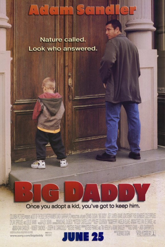 big daddy movie 10 Best Adam Sandler Movies Ever
