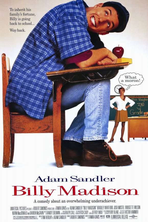 bill madison 10 Best Adam Sandler Movies Ever