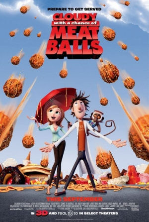 cloudy with a chances of meat balls 10 Best Movies To Watch In 3D