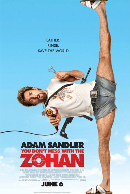 dont mess zohan movie 10 Best Adam Sandler Movies Ever