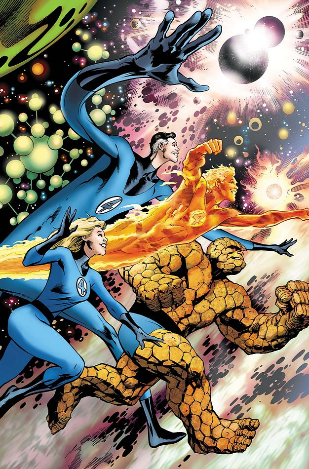 fantastic four 10 Most Popular Comics In 2011