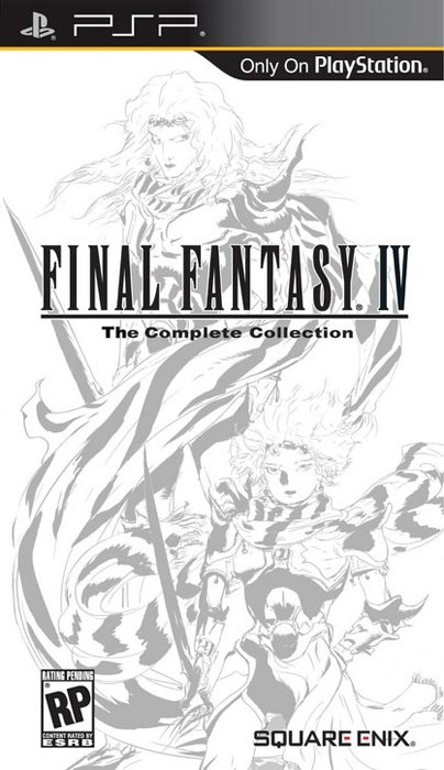 final fantasy iv the complete collection sony psp 10 Best PSP Games In 2011