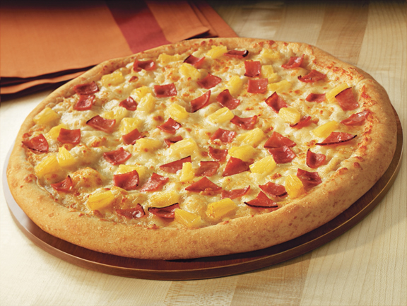 ham and pineapple pizza 10 Most Delicious Pizza Toppings