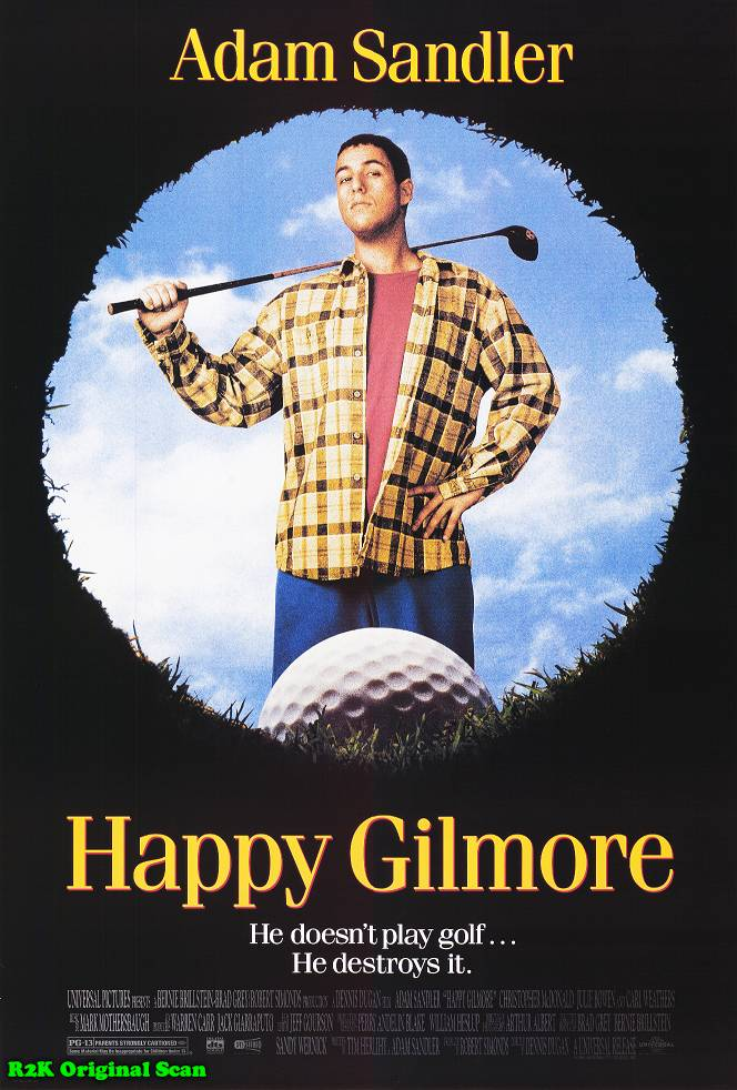 happy gilmore 10 Best Adam Sandler Movies Ever