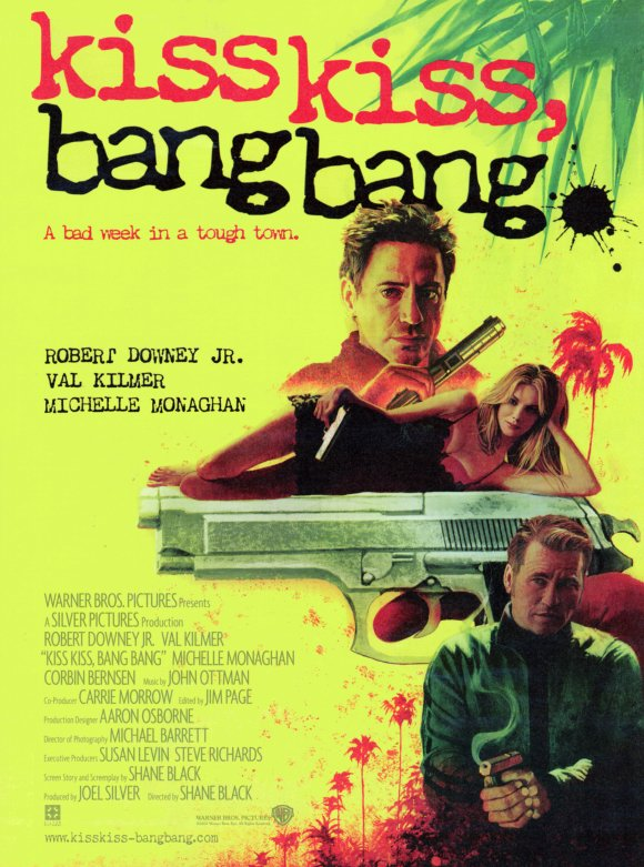 kiss kiss bang bang 10 Best Robert Downey Movies Ever