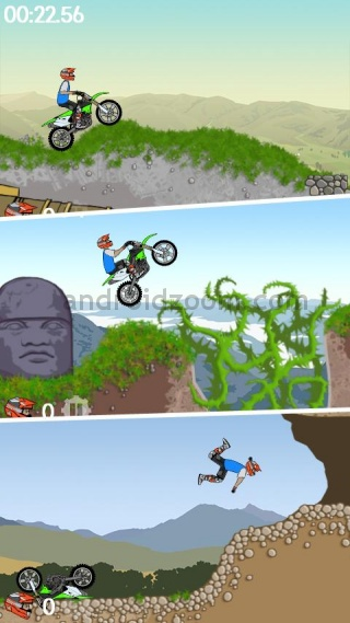 moto x mayhem 10 Most Addictive Android Games  2011