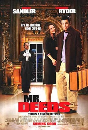 mr deeds movie 10 Best Adam Sandler Movies Ever