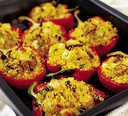 stuffed peppers 10 Healthy & Delicious Vegetarian Dishes