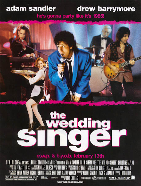 the wedding singer 10 Best Adam Sandler Movies Ever