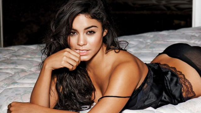 vanessa hudgens sheer black panties 10 Hot Vanessa Hudgens Wallpapers