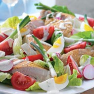 warm roasted chicken salad 10 Most Delicious Salads in The World