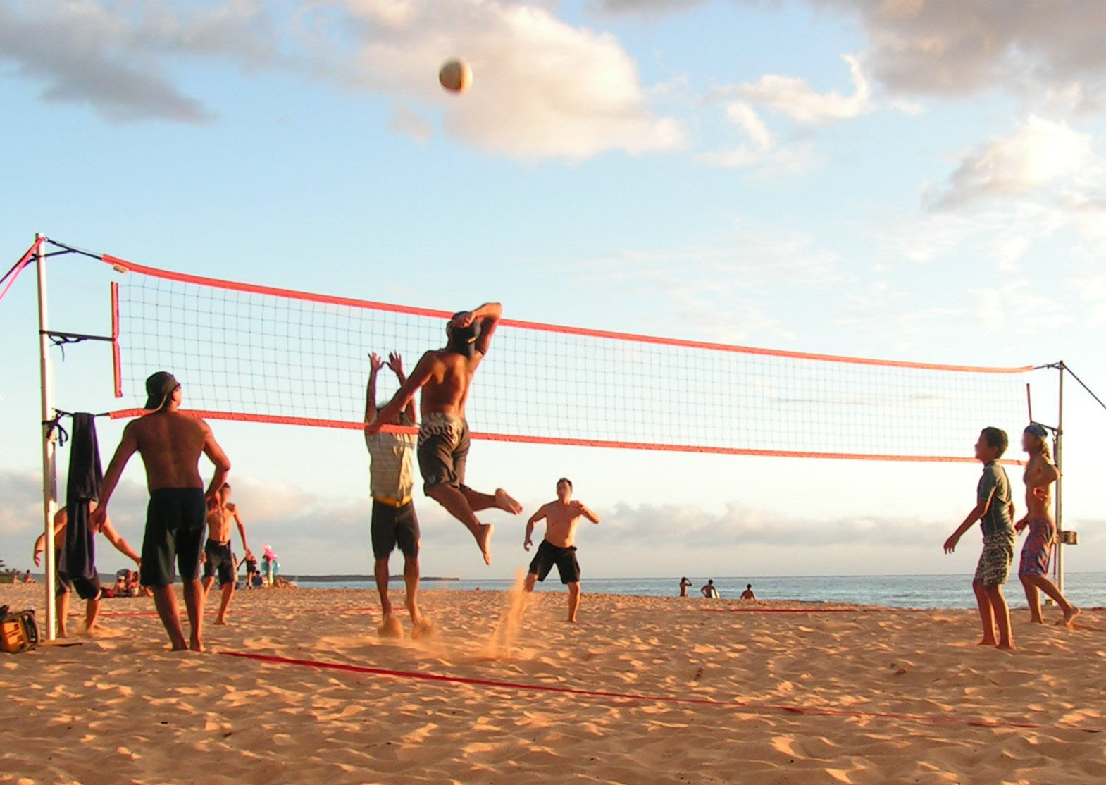 Beach Volley ball 10 Best Sports In Summer