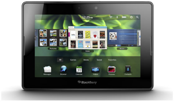 BlackBerry Playbook 10 New Technology Updates In 2011