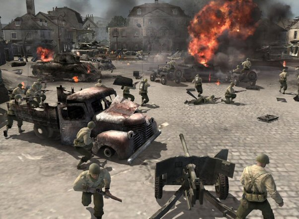 COMPANY OF HEROES 10 Best Real Time Strategy Games In 2011