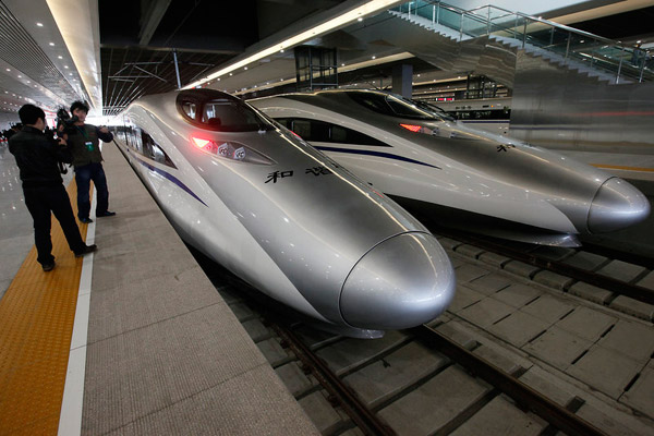 CRH380A - Fastest train in the world