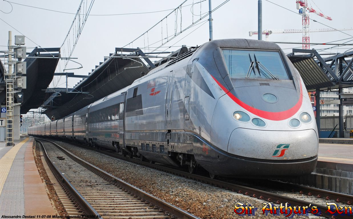 ETR 500 10 Fastest Trains In The World