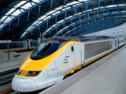 Eurostar 10 Fastest Trains In The World