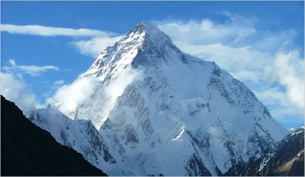 K2 Mountain 10 Highest Mountains In The World