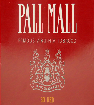 PALL MALL 10 Most Popular Cigarette Brands