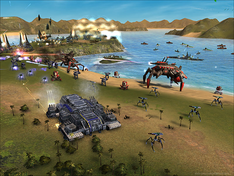 SUPREME COMMANDER 10 Best Real Time Strategy Games In 2011