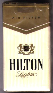 hilton 10 Most Popular Cigarette Brands