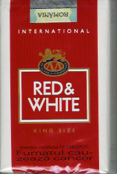red white 10 Most Popular Cigarette Brands