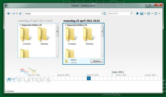 windows 8 history vault 10 New Features Expected In Windows 8