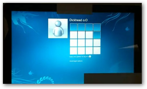 windows 8 pattern login 10 New Features Expected In Windows 8