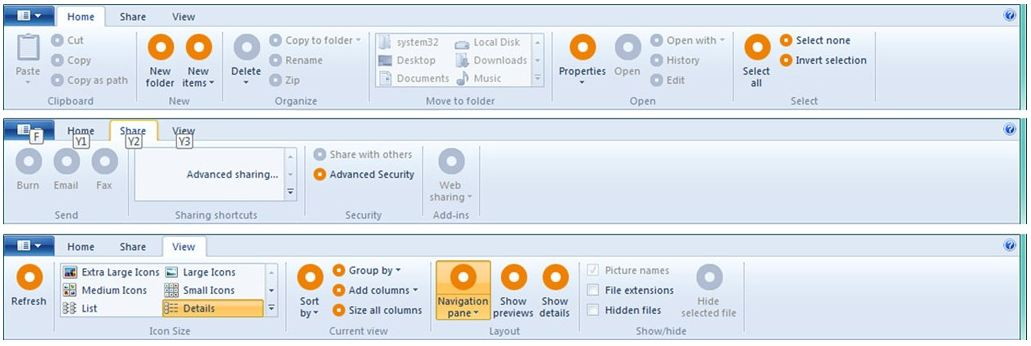 windows 8 ribbon user interface 10 New Features Expected In Windows 8