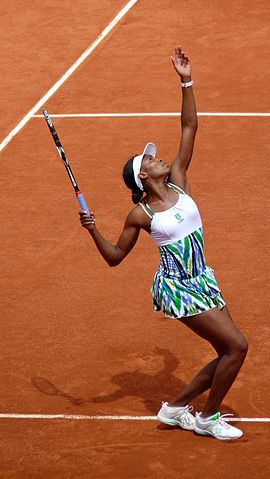 10. Venus Williams Top 10 Female Tennis Players With Most Titles In Wimbledon