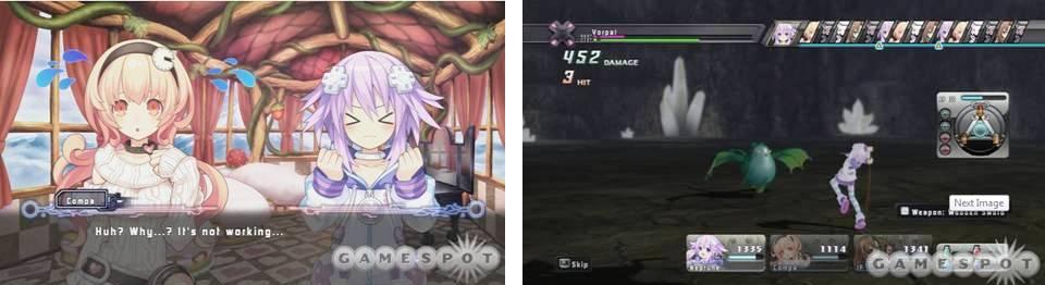 6. Hyperdimension Neptunia Top 10 Anime Inspired PlayStation 3 Games