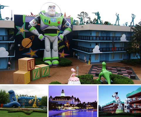 Cartoon Inspired 10 Best Hotel Themes