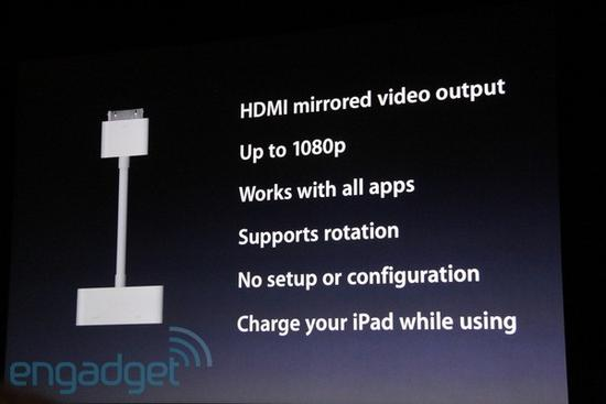 HDMI 1080p Video Out 10 Must Have iPad 2 Accessories