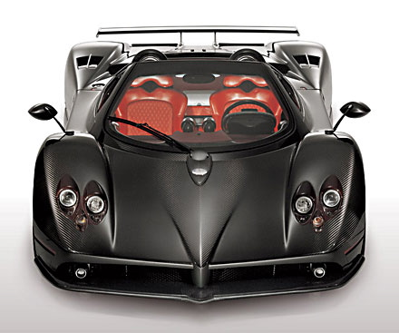 Pagani Zonda C12 F Top 10 Most Expensive Cars In 2011   2012