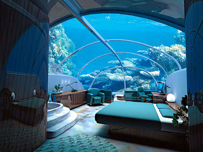 Submerged Underwater 10 Best Hotel Themes