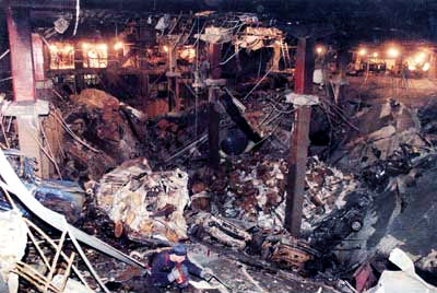 The 1993 World Trade Center bombing 10 Worst Terrorist Attacks