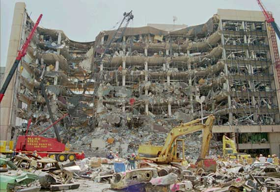 The Oklahoma City bombing 10 Worst Terrorist Attacks