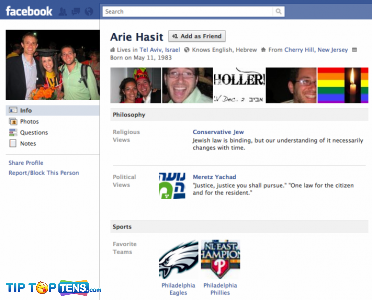 arie hasit 10 First People To Join The Facebook