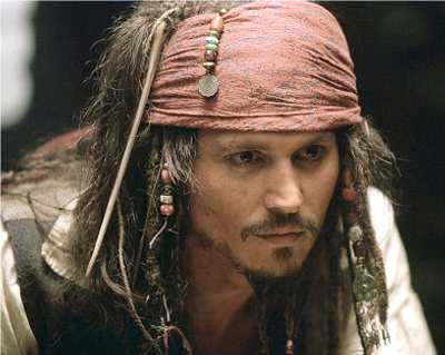 captain jack sparrow Top 10 Best Johnny Depp Characters