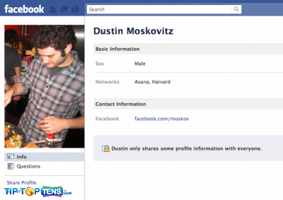 dustin moskovitz 10 First People To Join The Facebook