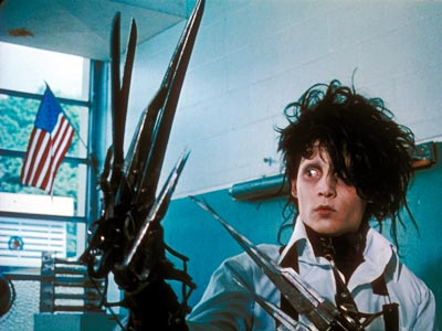 edward scissorhand Top 10 Best Johnny Depp Characters