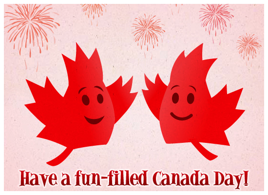 greeting card 10 Best Canada Day Gifts