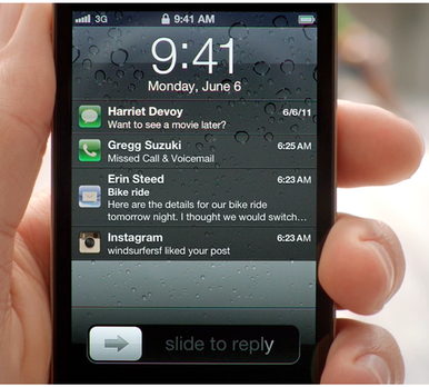 notification center Top 10 New Features In Apple iOS 5