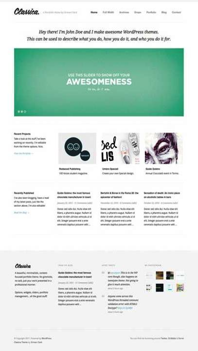 034 10 Best Premium WordPress Themes in 2011
