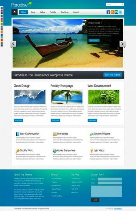 044 e1311015075914 10 Best Premium WordPress Themes in 2011